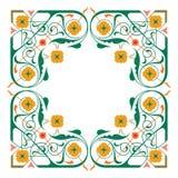 dekorerad ram Royaltyfri Fotografi