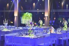 dekorerad tabell Royaltyfria Bilder