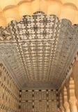 Dekorerad tak & vägg. Arkivbild