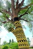 dekorerad tree Royaltyfri Bild