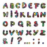 Dekorerade bokstäver Fotografering för Bildbyråer