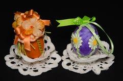 dekorerade easter ägg Royaltyfri Bild