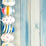 dekorerade easter ägg Royaltyfri Fotografi