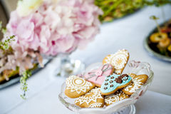 dekorerade kakor Royaltyfri Fotografi