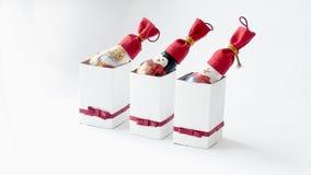 Dekorerade lampor för nytt år Royaltyfri Foto
