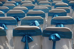 dekorerade stolar Arkivfoton