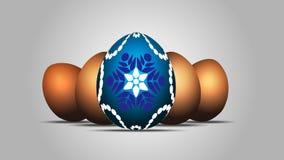 dekorerat ägg Arkivbilder