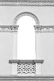 Dekorerat dörrfönster med kopieringsutrymme inom Royaltyfria Foton