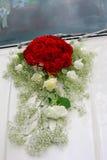 dekorerat maskinbröllop Fotografering för Bildbyråer