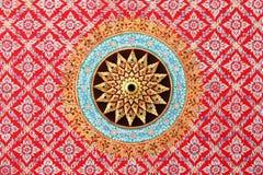 Dekorerat tak av templet Royaltyfri Bild