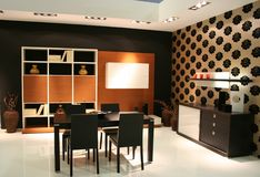 dekorowanie pokoju mieszka pomysły. Zdjęcie Stock