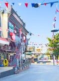 Dekorująca ulica Zdjęcia Stock