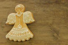 Dekorujący anioł, miodownik Obraz Royalty Free