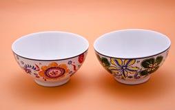 Dekorujący ceramiczni garnki Zdjęcie Royalty Free