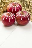 Dekorujący jabłka Fotografia Stock