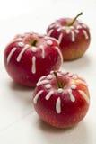 Dekorujący jabłka Obrazy Royalty Free
