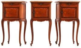 Dekorujący mały drewniany gabinet (różni kąty) Obraz Stock