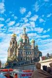 Dekorujący Rosyjski kościół Zdjęcia Stock