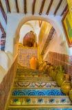 Dekorujący schody Zdjęcie Royalty Free