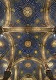 Dekorujący sufit w kościół Wszystkie narody Obraz Royalty Free