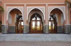 dekorujący wejściowy Morocco Oriental Obrazy Stock