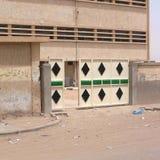 Dekorująca brama w miasteczku Germa Zdjęcia Stock