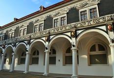 Dekorująca fasada. Zdjęcia Royalty Free