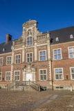 Dekorująca fasada barokowy kasztel w Ahaus Obrazy Royalty Free