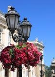 dekorująca lekka ulica Obraz Stock