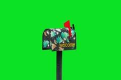 dekorująca skrzynka pocztowa Fotografia Royalty Free