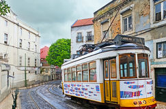 Dekorujący tramwaj Obrazy Stock