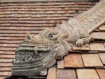 Dekoruje stiuku dach Zdjęcie Royalty Free