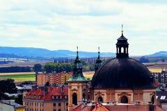 ¾ del› Å™ÃÅ de KromÄ, República Checa Fotos de archivo