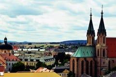 ¾ del› Å™ÃÅ de KromÄ, República Checa Fotografía de archivo libre de regalías