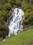 Del Рио Bianco Cascate, северная Италия Стоковые Изображения RF