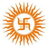 αγκυλωτός σταυρός σημα&del Στοκ φωτογραφίες με δικαίωμα ελεύθερης χρήσης