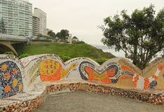 Del Amor Or Love Park EL Parque in Miraflores, Lima, Peru Stockfotografie