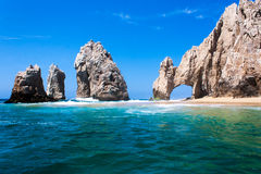 del Arco Cabo圣卢卡斯 免版税库存图片