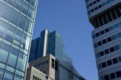 Del av byggnader Arkivfoto