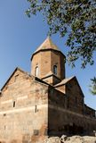 Del av den forntida kloster Khor Virap i Armenien Royaltyfria Bilder