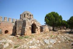 Del av den gamla inre Ichkalen (inre slott). Arkivbilder
