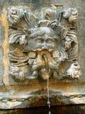 Del av den gammala springbrunnen i Dubrovnic, Arkivbilder