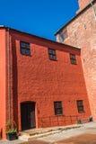 Del av den Malmo slotten Arkivfoto