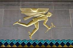 Del av den Rockefeller mitten, Manhattan, NYC Royaltyfri Bild