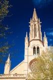 Del av den Santa Eulalia kyrkan i Palma Fotografering för Bildbyråer