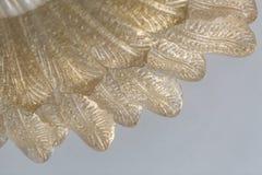 Del av den utsmyckade guld- lampan Royaltyfri Foto
