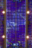 Del av det glass taket, Leeds gallerier Arkivbild