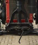 Del av en gammal traktor Fotografering för Bildbyråer