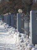 Del av ett atractive staket Royaltyfri Bild