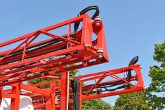 Del av ett jordbruks- maskineri royaltyfria foton